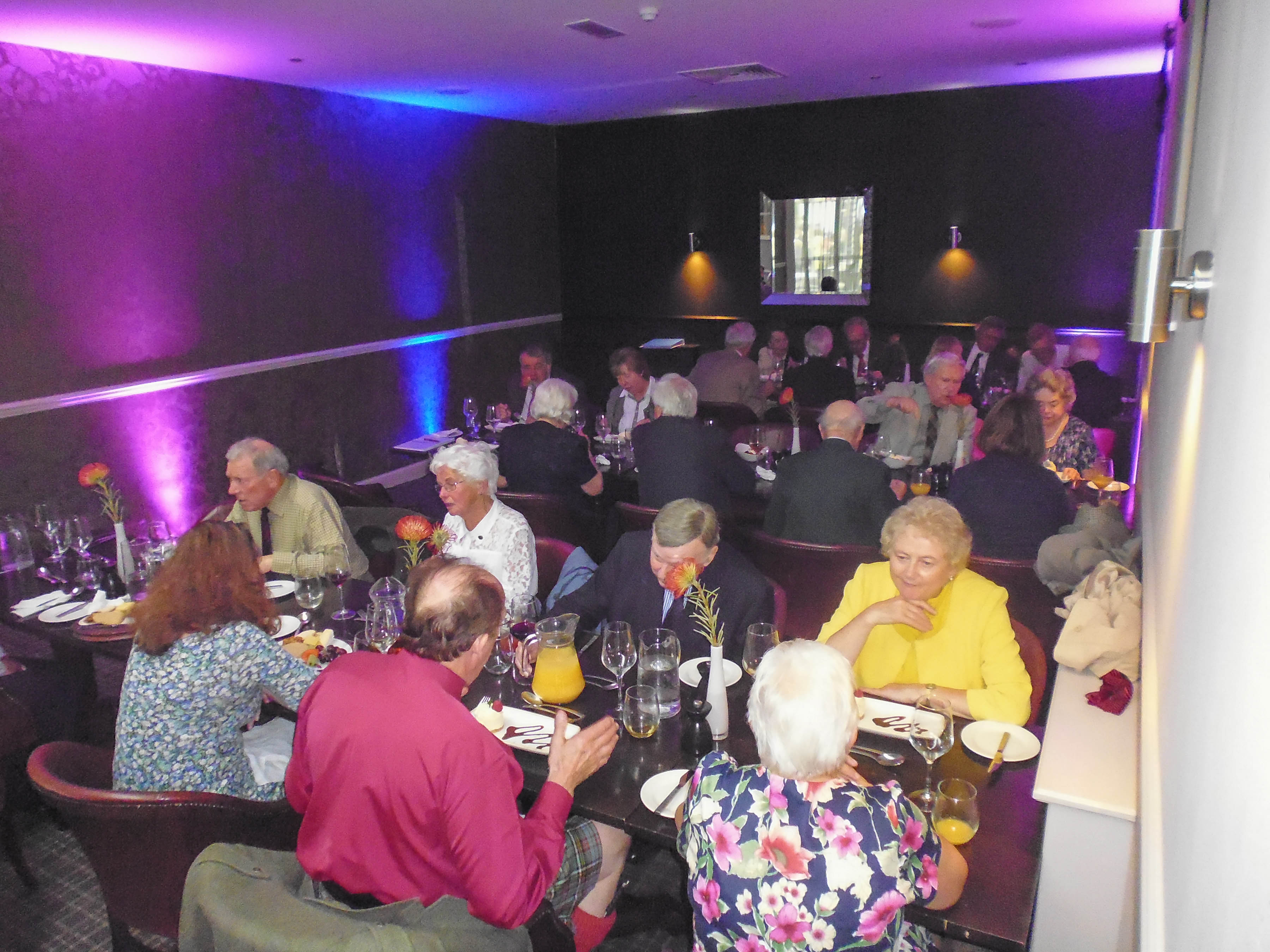 Society lunch at Barony Castle 1Mb