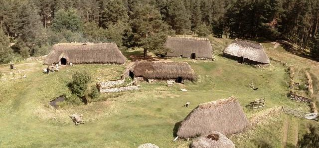 The Highland Folk Museum at Newtonmore
